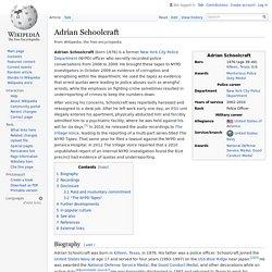 Adrian Schoolcraft