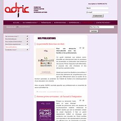 ADRIC - Nos publications