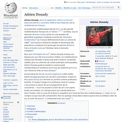 Adrien Douady