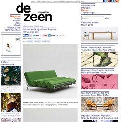//Slash sofa by Adrien Rovero for Campeggi