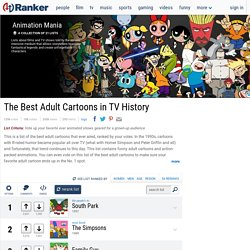 Top Animated Shows for Adults