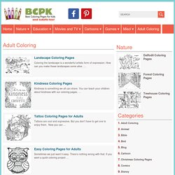 Adult Coloring Archives - Best Coloring Pages For Kids