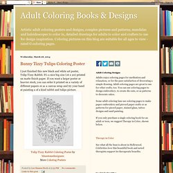 Adult Coloring Books & Designs