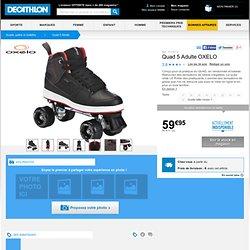 Quad 5 Adulte OXELO - Quads, patins à roulettes Roller, skate, trottinette...