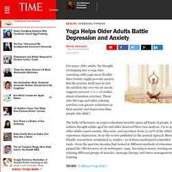 Yoga Helps Older Adults Battle Depression and Anxiety