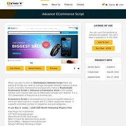 Advance eCommerce Script