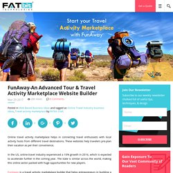 FunAway-An Advanced Tour & Travel Activity Marketplace Website Builder