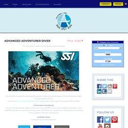 Advanced Adventurer Diver - Dive Spot Asia
