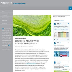 Looking Ahead with Advanced Biofuels