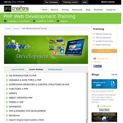 PHP Courses Training Classes Institute in Nagpur