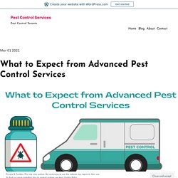 What to Expect from Advanced Pest Control Services