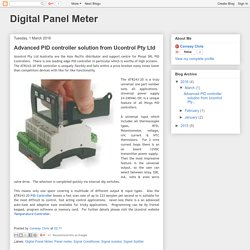 Advanced PID controller solution from Ucontrol Pty Ltd