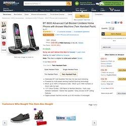 BT8600 nouveau modèle, plus de 900 commentaires, prix environ 60 livre sterling, (il faut 2 adaptateurs prise de courant et un cable rj11-rj45)