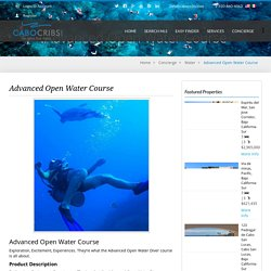Advanced Open Water Course - CaboCribs.com Real Estate