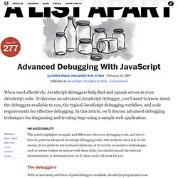 Advanced Debugging With JavaScript