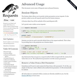 Advanced Usage — Requests 2.7.0 documentation