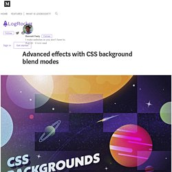 Advanced effects with CSS background blend modes