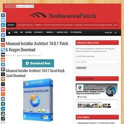 Advanced Installer Architect 14.0.1 Patch & Keygen Download