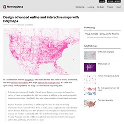 Design advanced online and interactive maps with Polymaps