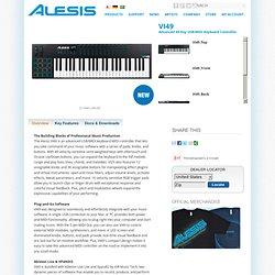 VI49 Advanced 49-Key USB/MIDI Keyboard Controller