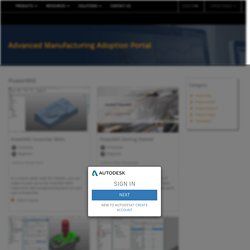 Advanced Manufacturing Adoption Portal