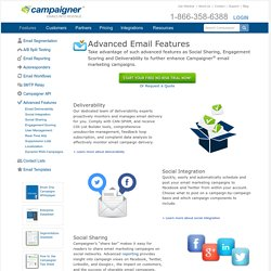 Advanced Email Marketing Tools