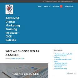 Digital Marketing Training - CICE in kolkata