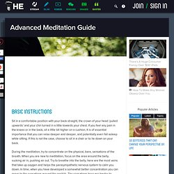 Advanced Meditation Guide