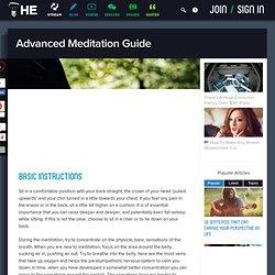 Advanced Meditation Guide