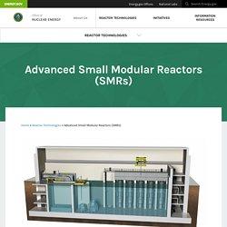 Advanced Small Modular Reactors (SMRs)