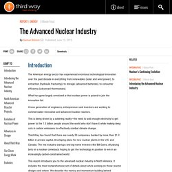 The Advanced Nuclear Industry - Third Way