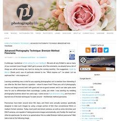 Advanced Photography Technique: Brenizer Method Panorama