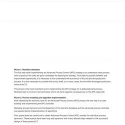 Advanced Process Control Company - Picontrol Solutions