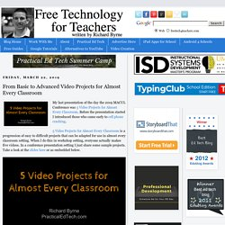 From Basic to Advanced Video Projects for Almost Every Classroom