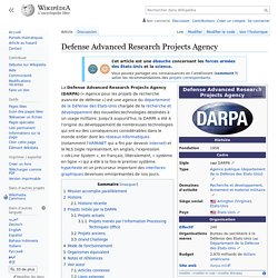 Defense Advanced Research Projects Agency