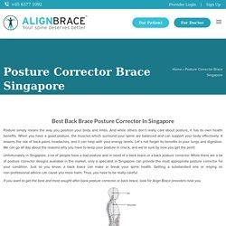 Posture Corrector Singapore