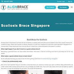Back Brace For Scoliosis