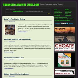 Advanced Survival Guide.com