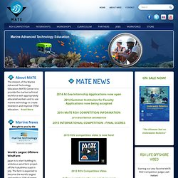 MATE - Marine Advanced Technology Education