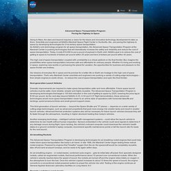 Advanced Space Transportation Program fact sheet