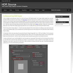 Advanced Vray HDR Setup Tutorial. : HDR Source High Dynamic Range and 3d Panorama Photography