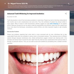 Advanced Teeth Whitening for Improved Aesthetics