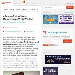 Advanced WordPress Management With WP-CLI