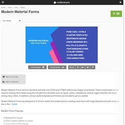 Modern Material Forms by AdvanceStudios