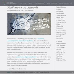 33 Digital Tools for Advancing Formative Assessment in the Classroom