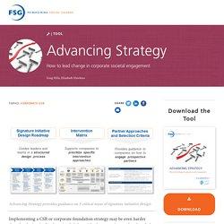 Advancing Strategy