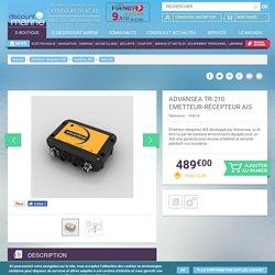 ADVANSEA TR-210 Emetteur-Récepteur AIS - Discount Marine