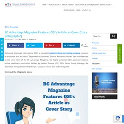 BC Advantage Magazine Features OSI's Article as Cover Story