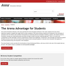 The Arena Advantage for Students