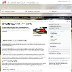 Les Infrastructures - L'Autriche, terre d'accueil des projets économiques - Investir en Autriche - Business Guide Autriche